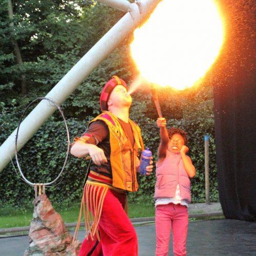 Chapeau verzorgde de circusartiesten voor het Zuiderpark